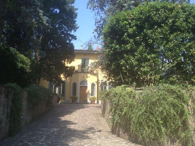 Entrada do Villa la Sosta