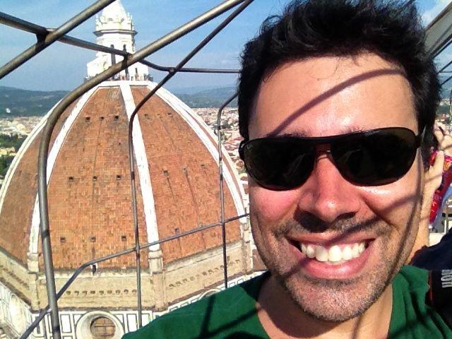 Olha lá o Duomo!