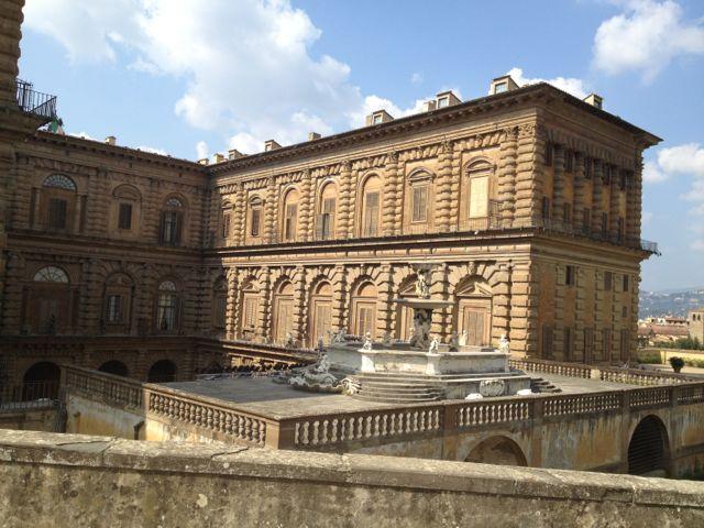 Vista do Palazzo pelo Giardino di Boboli