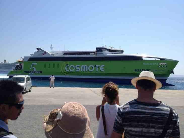 Highspeed 5 da Hellenic Seaways